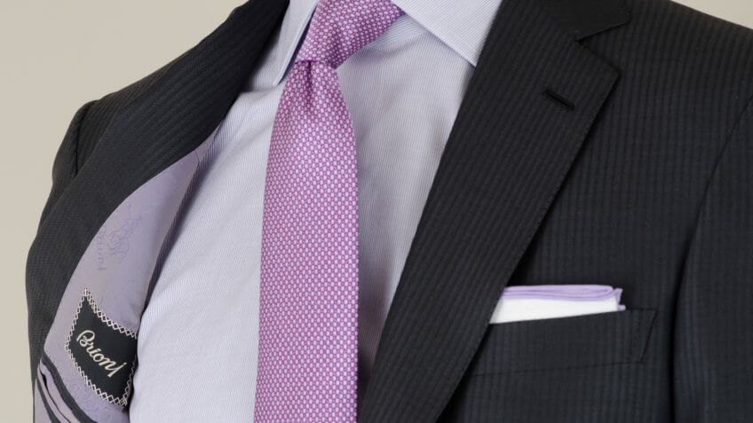 Brioni suits and shirts