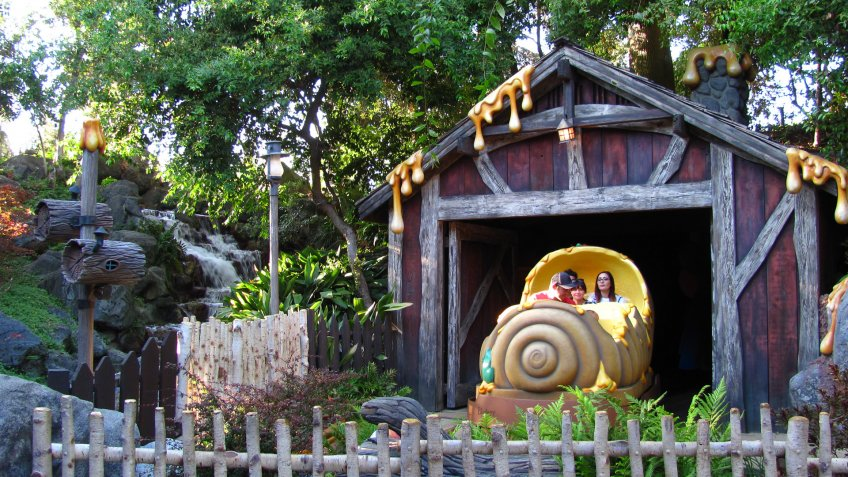Many Adventures of Winnie the Pooh attraction at Walt Disney World