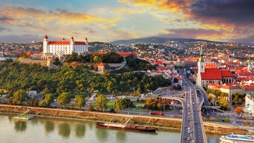 10903, Cities, Horizontal, International, Slovak Republic, Slovakia, countries, minimum wage, world
