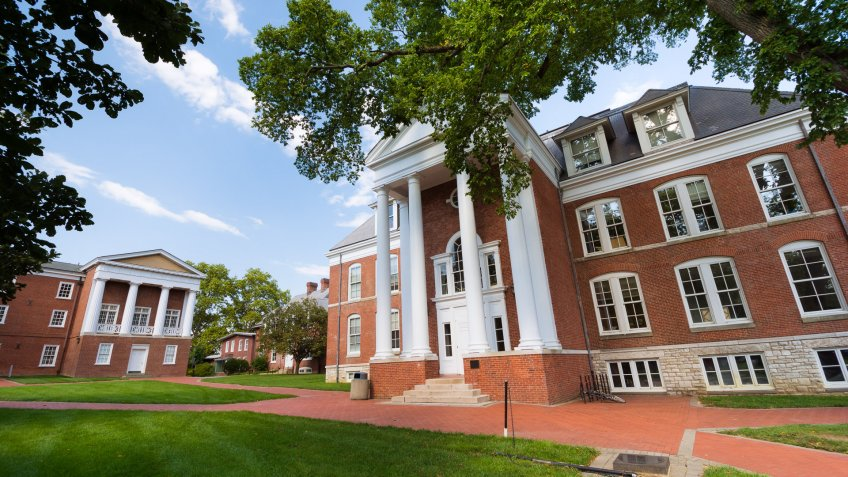 Recitation Hall at the University of Delaware in Newark, Delaware.