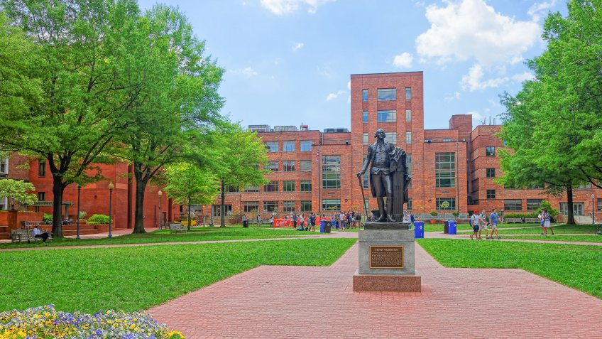 George Washington University in Washignton D.C.
