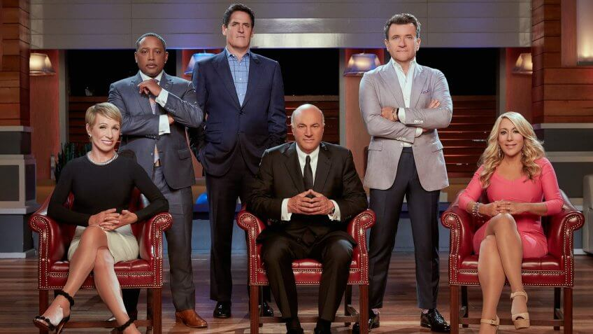 "Barbara Corcoran, Daymond John, Mark Cuban, Kevin O'Leary, Robert Herjavec and Lori Greiner are the ""Sharks"" on ABC's ""Shark Tank."