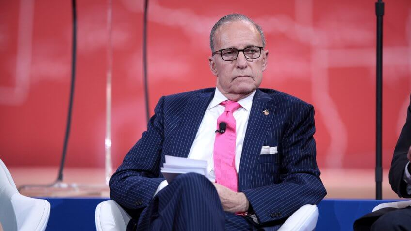 Director of the National Economic Council Larry Kudlow