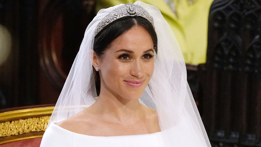 Photo by REX/Shutterstock (9685436bn)Meghan MarkleThe wedding of Prince Harry and Meghan Markle, Ceremony, St George's Chapel, Windsor Castle, Berkshire, UK - 19 May 2018.