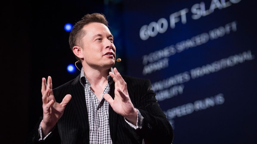 Elon Musk, serial entrepreneur, at TED2013: The Young, The Wise, The Undiscovered.