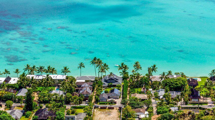 Lani Kai Beach, Oahu, Hawaii.