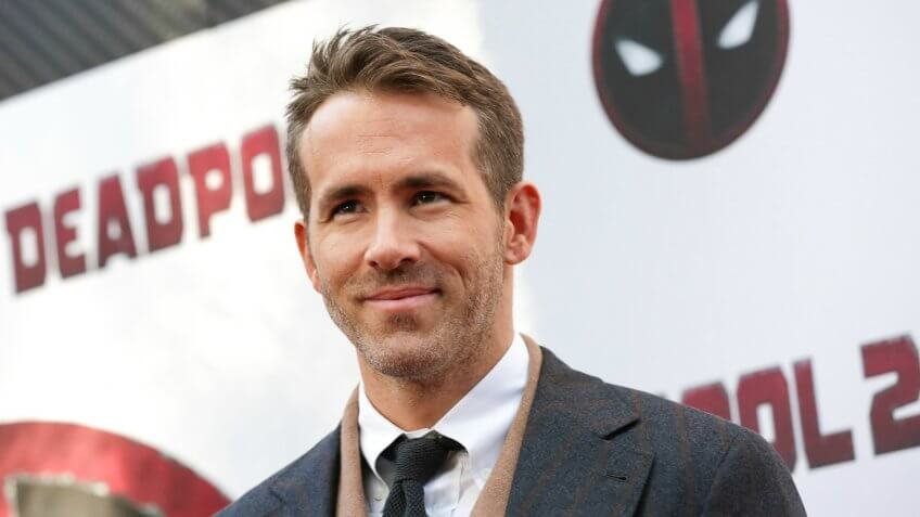 "Actor Ryan Reynolds attends a special screening of ""Deadpool 2"" at AMC Loews Lincoln Square, in New York NY"
