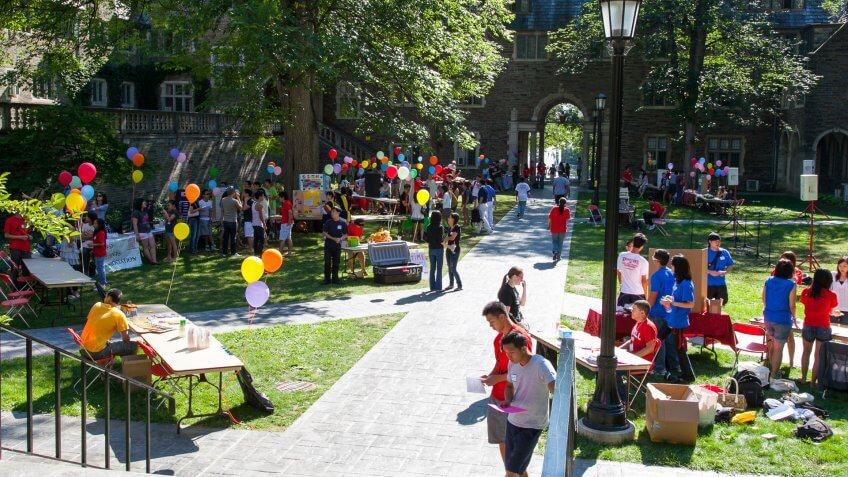 college campus events