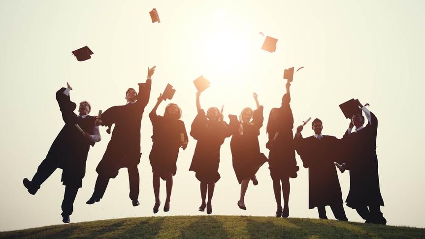 Graduation College School Degree Successful Concept.