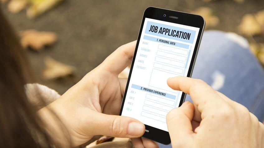 phone job application