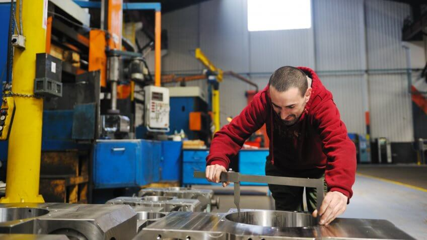 Man working in Machinery and Mechanical Appliances Industry