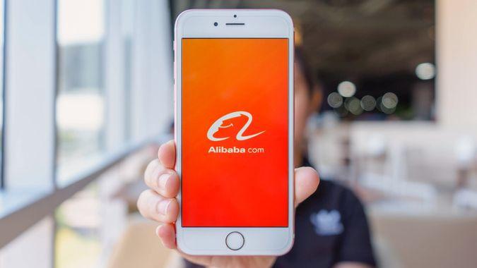 Alibaba app on iPhone