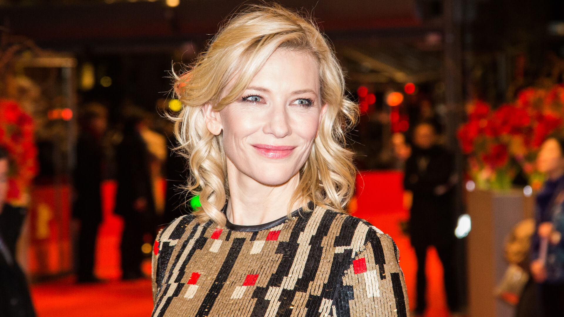 Cate Blanchett attends the 'Cinderella' premiere during the 65th Berlinale Film Festival at Berlinale Palace on February 13, 2015 in Berlin, Germany.