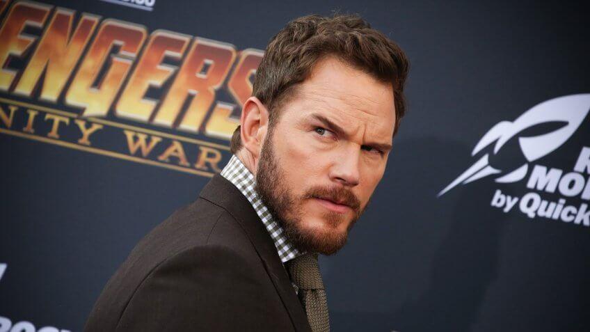 Chris Pratt 'Avengers: Infinity War' film premiere, Arrivals, Los Angeles, USA - 23 Apr 2018.