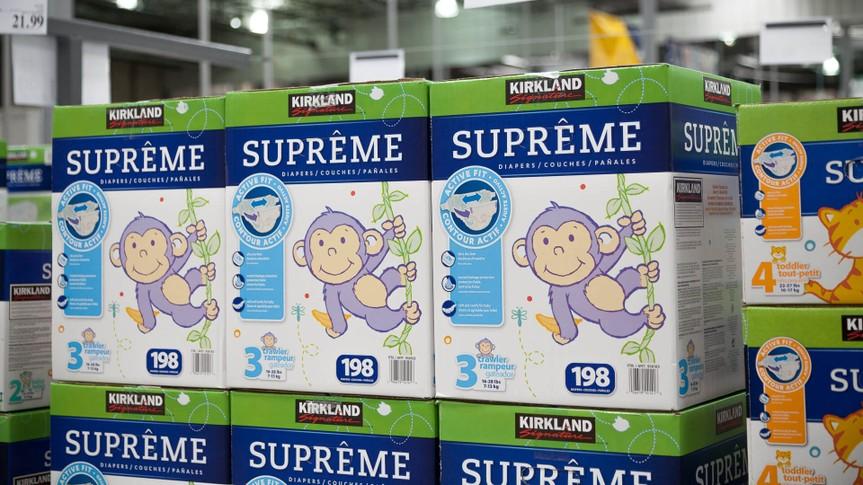 Costco Kirkland Signature Diapers