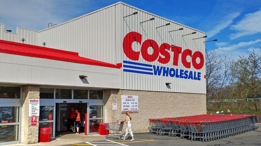 Costco Wholesale warehouse exterior