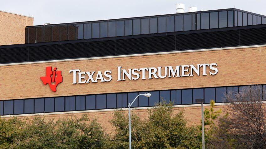 DALLAS, TEXAS - MARCH 14: The Texas Instruments world headquarters located in Dallas, Texas on March 14, 2014.