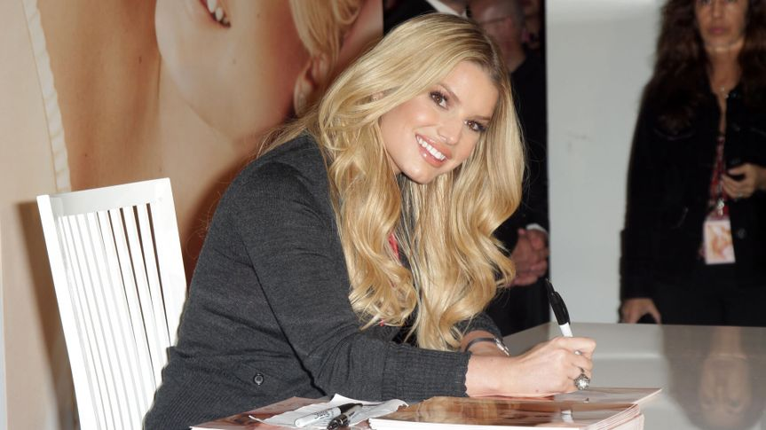 Jessica Simpson at an in store appearance to launch her new fragrance 'Fancy'.