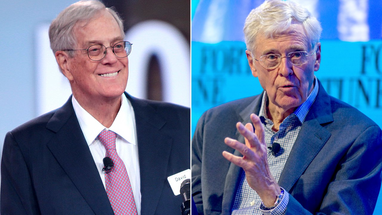 Koch Brothers Net Worth: See Their Staggering Fortune