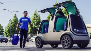 Kroger to Compete With Amazon With New Driverless Delivery Service