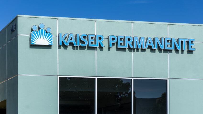 LOS ANGELES, CA/USA - JULY 12, 2015: Kaiser Permanente medical care facility.