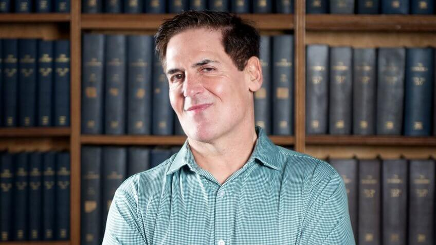 Photo by Roger Askew/The Oxford Union/REX/Shutterstock (8467473a)Mark Cuban - American businessman, owner of NBA Dallas Mavericks, and a vocal critic of TrumpMark Cuban at the Oxford Union, UK - 24 Feb 2017.
