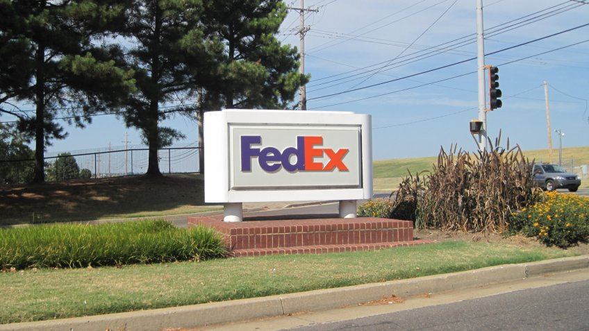 FedEx in Memphis, Tennessee