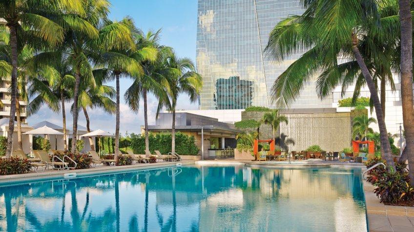 Four Seasons Resort in Miami, Florida