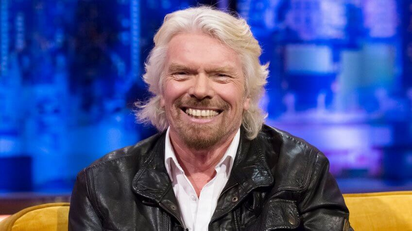 Sir. Richard Branson Virgin CEO