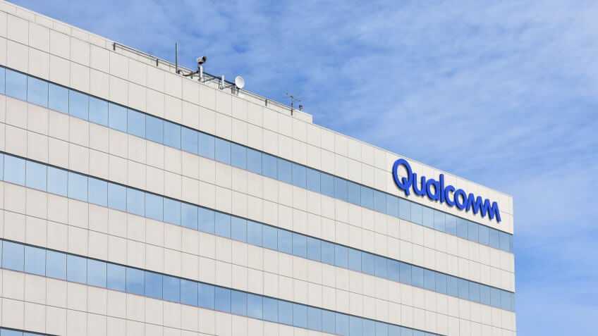 San Diego, CA / USA - March 21 2018: China pushes Qualcomm to protect local companies in NXP deal.