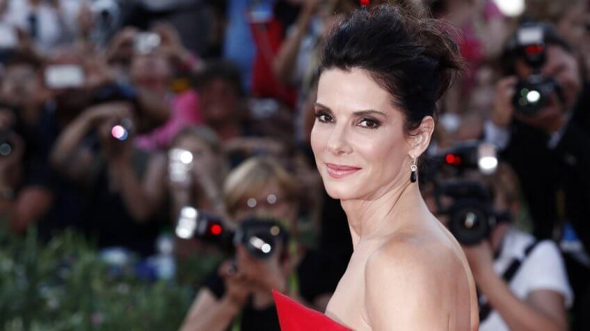 Sandra Bullock attends the Opening Ceremony And 'Gravity' Premiere during the 70th Venice Film Festival on August 28, 2013 in Venice, Italy.