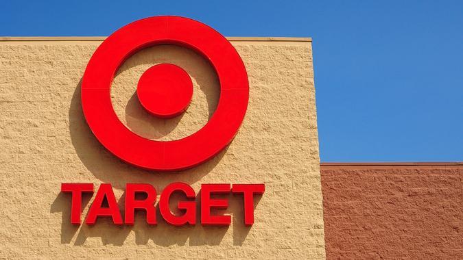 The Target bullseye logo on August 19, 2011 in St.