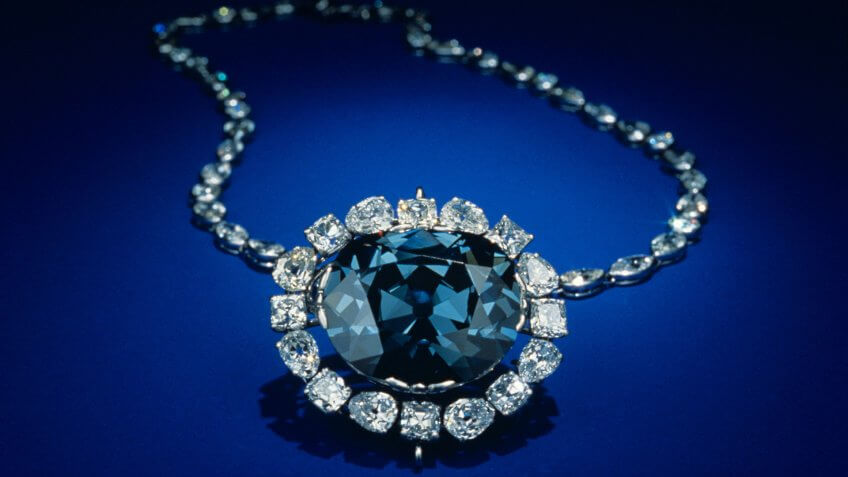Photo by REX/Shutterstock (279524a)HOPE DIAMOND JEWEL.