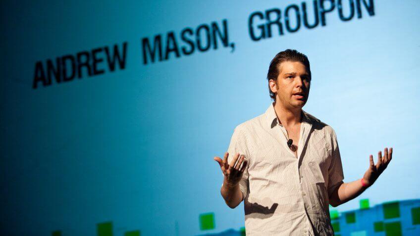 Andrew Mason ex Groupon CEO
