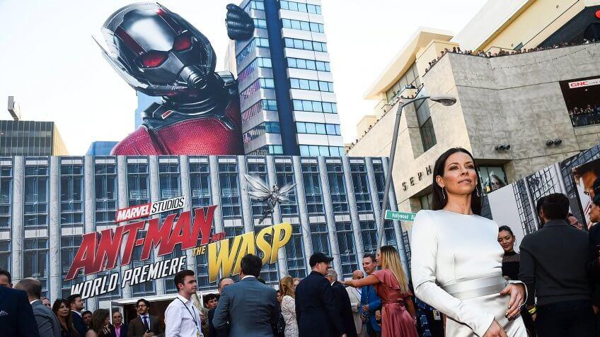 Photo by Michael Buckner/Variety/REX/Shutterstock (9727221ck)Evangeline Lilly'Ant-Man and The Wasp' film premiere, Arrivals, Los Angeles, USA - 25 Jun 2018.