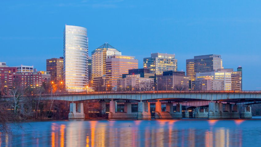 Arlington Virginia skyline