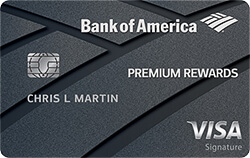 Bank of America Premium Rewards Visa Signature
