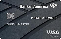 Bank of America Premium Rewards Visa Signature