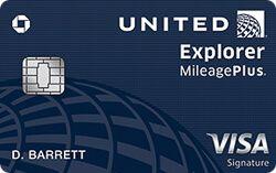Chase United Explorer Card
