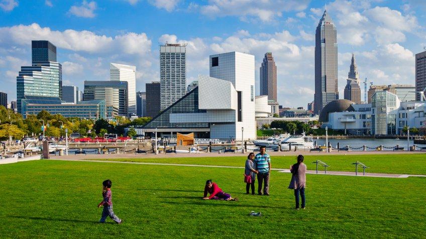 Cleveland, Ohio park