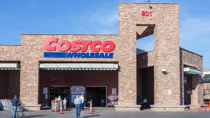 Las Vegas, USA - February 11, 2016: A Costco store front in Summerlin, Las Vegas.