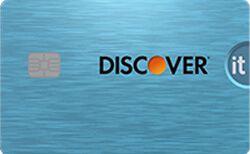 Discover It Cash Back