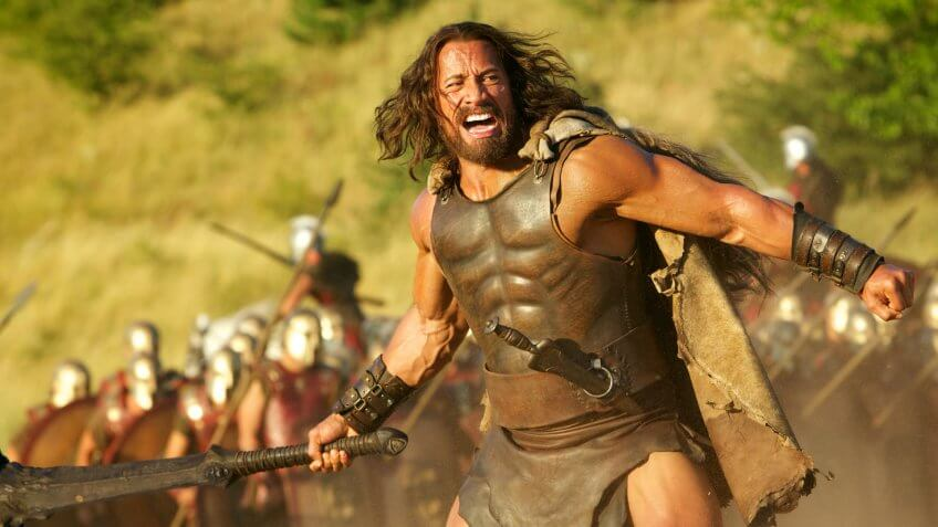 Dwayne Johnson Hercules - 2014 Director: Brett Ratner Paramount Pictures / Metro-Goldwyn-Mayer USA
