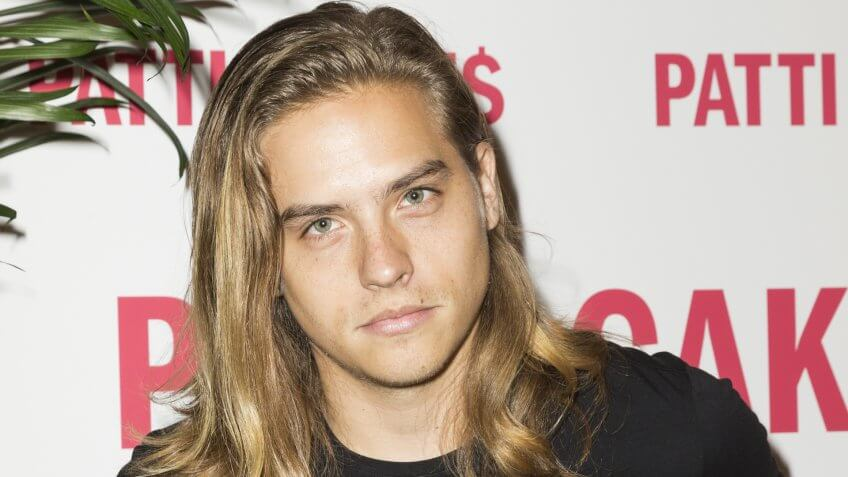 New York, NY - August 14, 2017: Dylan Sprouse attends the New York premiere of Patti Cake$ at Metrograph.