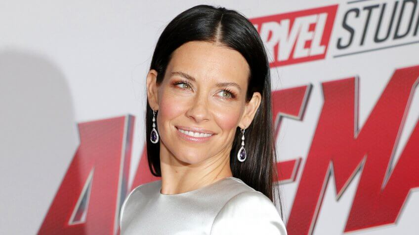 Evangeline Lilly at the Los Angeles premiere of 'Ant-Man And The Wasp' held at the El Capitan Theatre in Hollywood, USA on June 25, 2018.