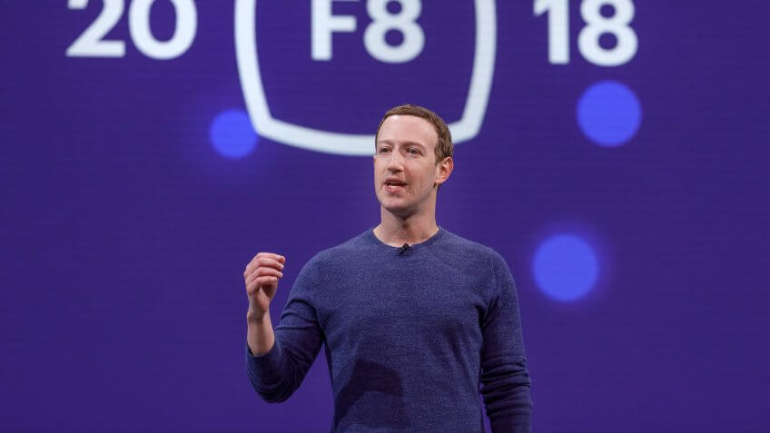 CEO Mark Zuckerberg at F8 2018