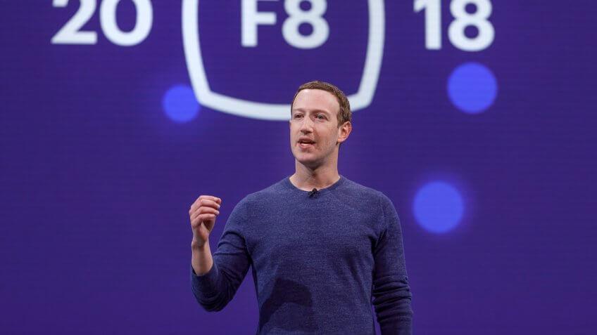 CEO Mark Zuckerberg at F8 2018