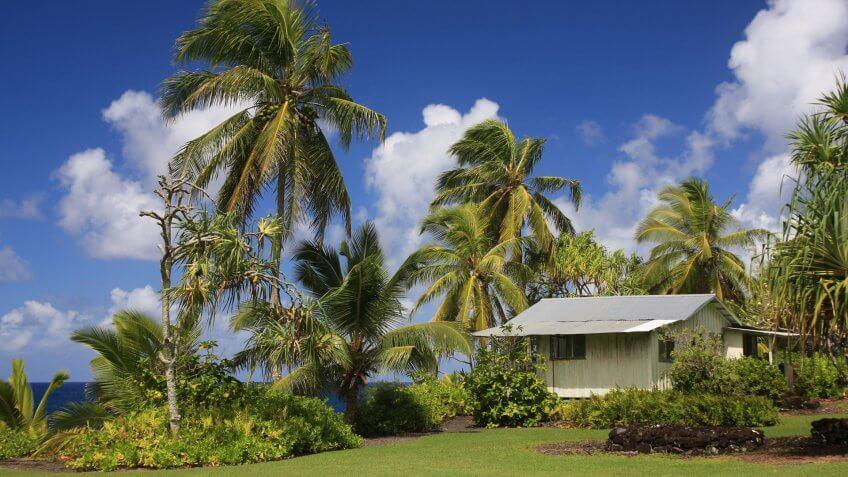 A small Maui home.