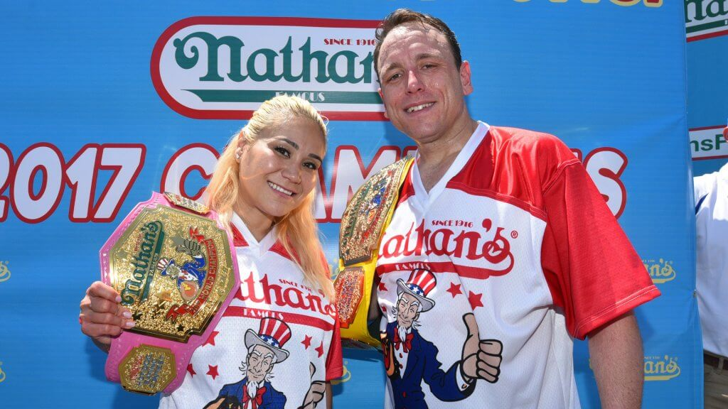 Nathan's Famous International Hot Dog Eating Contest, New York, USA – 04 Jul 2017