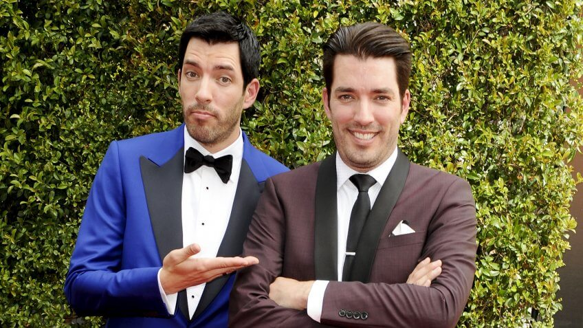 Photo by Picture Perfect/REX/Shutterstock (5074102bq)Jonathan Scott & Drew ScottCreative Arts Emmy Awards, Arrivals, Los Angeles, America - 12 Sep 2015.